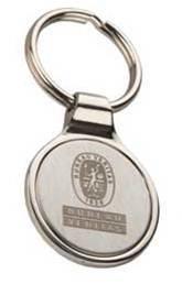Bureau Veritas Steel Keychain