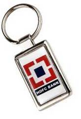 HDFC Excel Metal Keychain