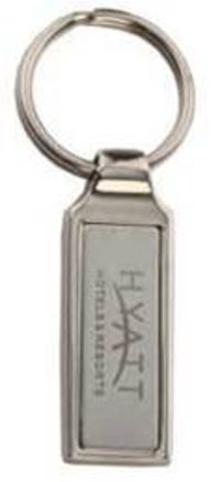 Hyatt Metal Keychain