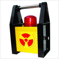 Radioactivity Warning Blinker With Siren