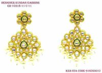 Antique Designer Range For Kundan Earring