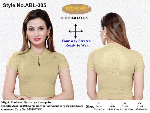 COLLER BLOUSE WITH LACE