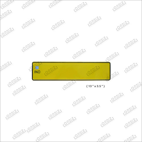 Ind Taxi Car Mini Number Plates
