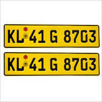 Taxi German Size Number Plates