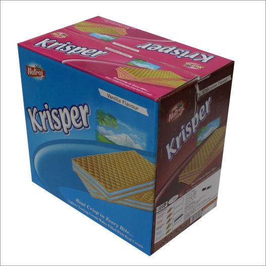 Krisper Cream Wafer Biscuit