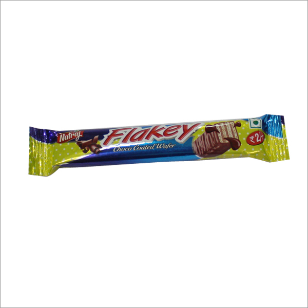 Flakey Choco Coated Wafer Biscuit