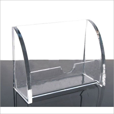 acrylic visiting cards holder