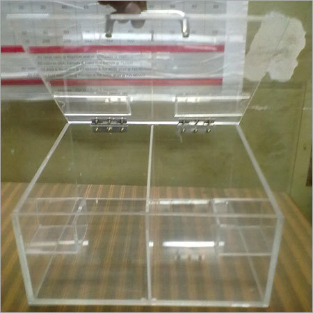 Acrylic confectionery products display box