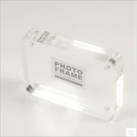 acrylic block photo frame