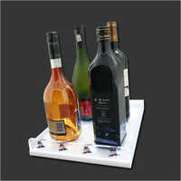 Acrylic Wine Holder Tray