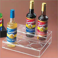 Arylic liquor displays