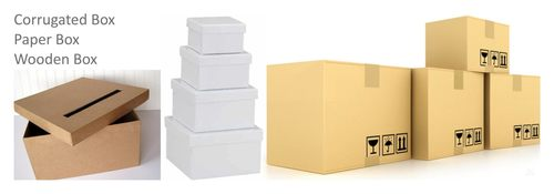 Corrugated Box - Paper Box & Wooden Box