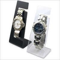 Acrylic small wrist watch stand