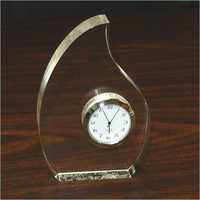 Acrylic clock as award