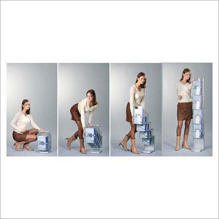 Acrylic Foldabel Brochure Stand