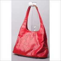 Acrylic hanging hand bag stand