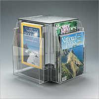 revolving magazine stand