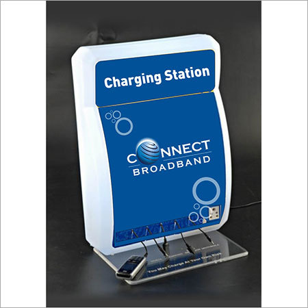 Acrylic Mobile Charging Stations