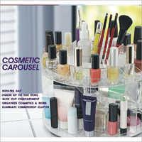 Acrylic Rotating Cosmetic Carousel
