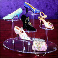 Acrylic Shoe Display Stand Multi