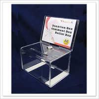 acrylic ballot box A6