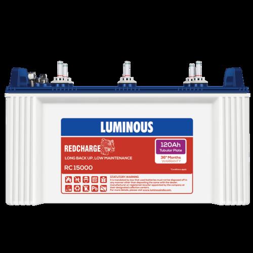 LUMINOUS RC15000 120 AH BATTERY
