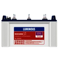 LUMINOUS RC15000 120 AH BATTERY