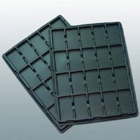 Esd thermoforming tray for mobile