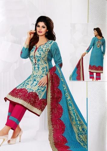 Miss world choice karachi cotton dress