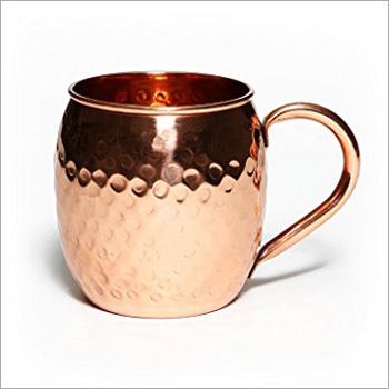 100% Pure Copper Mug