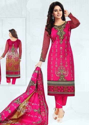 Fancy karachi cotton dress