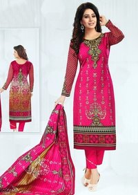 Fancy karachi cotton dress