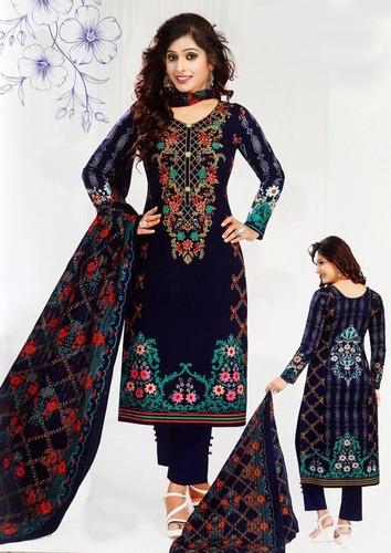 Latest karachi cotton Dress materials