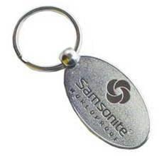 Samsonite Metal Keychain