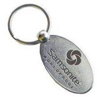 Samsonite Metal Keychain