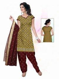 Fancy Border Dupatta Dress material