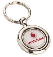 Vodafone Excel Metal Keychain