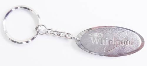 Whirlpool Metal Keychain