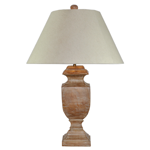 Wooden Table Lamp