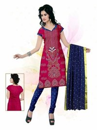Reshma Border Dupatta with Ati work dress material