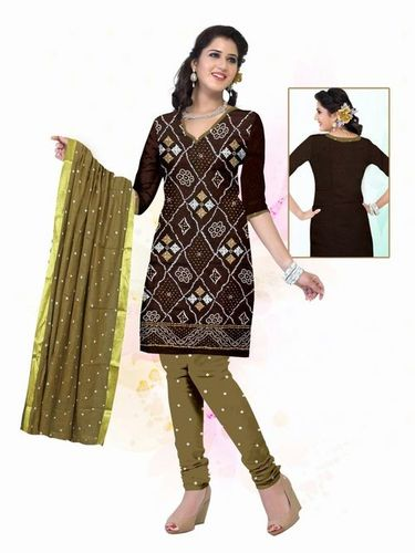 Ati Work Printed Dress Materials Wholesale