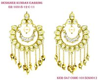 Exclusive Collection of Vilandi Kundan Earring