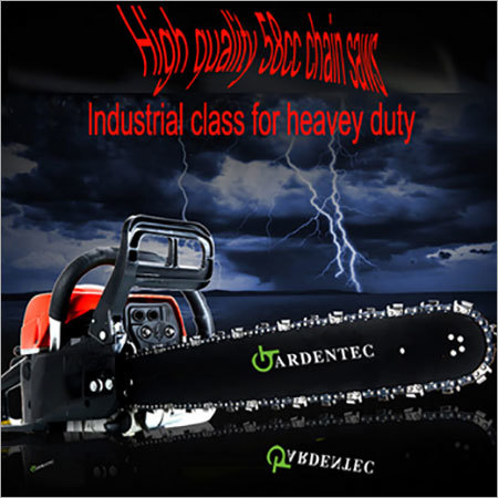Comercial heavy duty chain saw