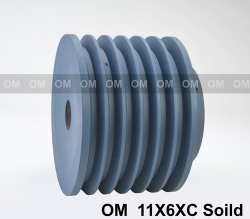 11X6XC SOLID PULLEY