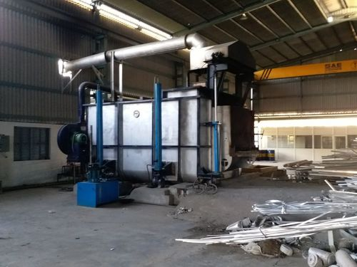 Fully Automatic Aluminium Melting Furnace