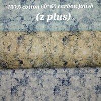 Shirting Carbon Finish Fabric  (Z Plus) 58