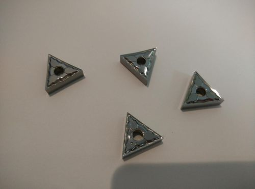 Carbide insert for Aluminum turning