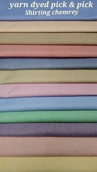 Shirting Yarn Dyed Pick & Pick Shirting Chembrey 58