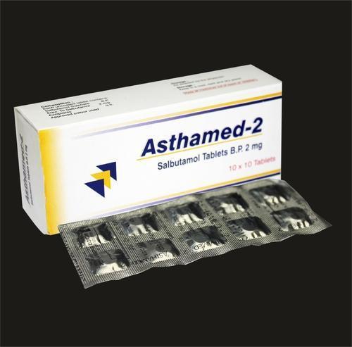 Salbutamol Tablets BP 2mg