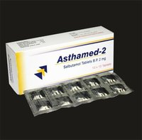 Salbutamol Tablets BP 2mg